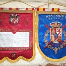 Militaria: ANTIGUOS BANDERINES FRANCO Y JUAN C.I. Lote 120734632