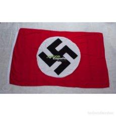 Militaria: BANDERA DEL PARTIDO NSDAP 1935-1945, NSDAP NATIONAL FLAG,. Lote 171475259
