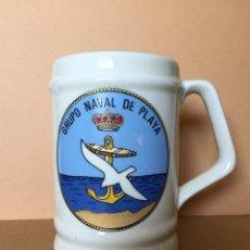 Militaria: JARRA MILITAR, ARMADA ESPAÑOLA. GRUPO NAVAL DE PLAYA. ANTIGUAS LCM-8 Y PONTONES. Lote 122177584