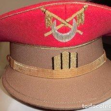 Militaria: GORRA DE PLATO DE SARGENTO DE REGULARES DE CABALLERIA. Lote 122452195