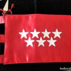 Militaria: BANDERA COMUNIDAD MADRID COCHE OFICIAL. Lote 125131631