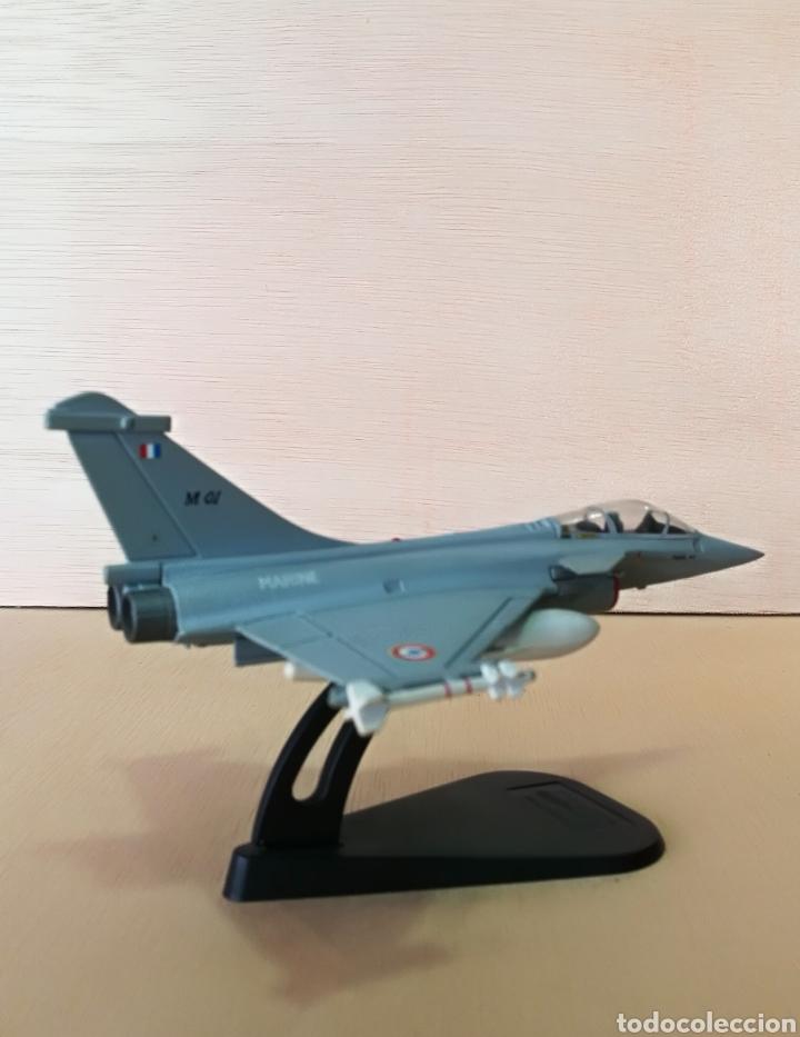 Militaria: Avión de combate Marine Rafale 01 coleccionable, metal - Foto 3 - 126017510