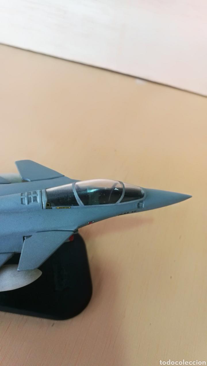 Militaria: Avión de combate Marine Rafale 01 coleccionable, metal - Foto 6 - 126017510