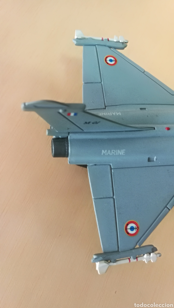Militaria: Avión de combate Marine Rafale 01 coleccionable, metal - Foto 9 - 126017510
