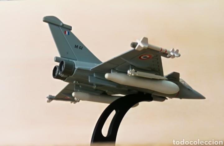 Militaria: Avión de combate Marine Rafale 01 coleccionable, metal - Foto 12 - 126017510