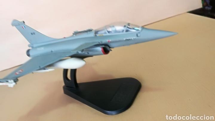 Militaria: Avión de combate Marine Rafale 01 coleccionable, metal - Foto 13 - 126017510
