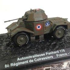 Militaria: BLINDADO VEHÍCULO DE COMBATE. MAQUETA COLECCIONABLE. AUTOMITRALLEUSE PANHARD 178 . FRANCIA 1940. Lote 126099615