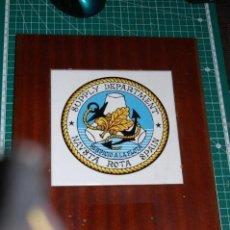 Militaria: USA. BASE NAVAL DE ROTA. METOPA. Lote 126837827