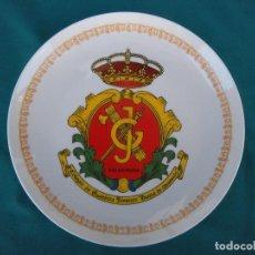 Militaria: PLATO PORCELANA GUARDIA CIVIL. Lote 127469799