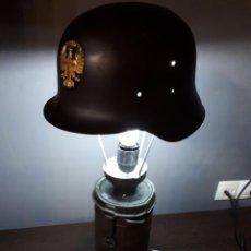 Militaria: CASCO Z EJERCITO ESPAÑOL LAMPARA. Lote 127597487