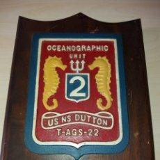 Militaria: ANTIGUA METOPA OCEANOGRAPHIC UNIT US NS DUTTON T-AGS-22. Lote 127847100