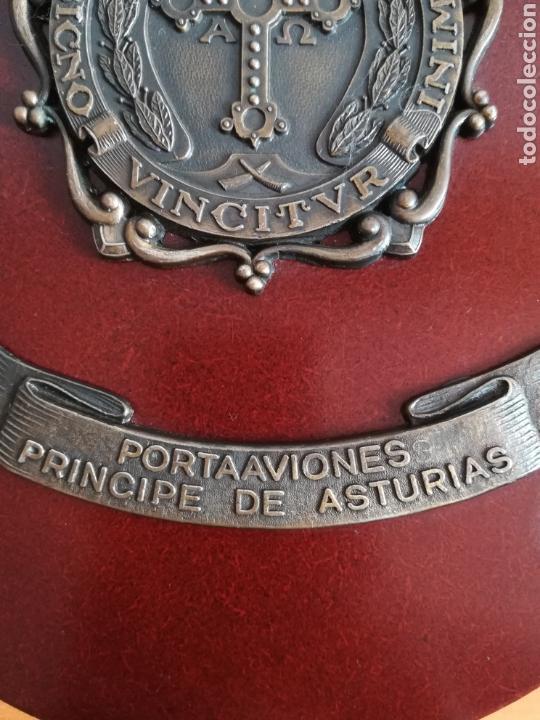Militaria: Metopa portaaviones Príncipe de Asturias - Armada Ejército mar - Foto 7 - 128966102