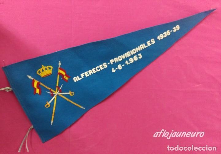 BANDERIN ALFEREZ PROVISIONAL 1963 (Militar - Reproducciones, Réplicas y Objetos Decorativos)