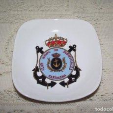 Militaria: CENICERO CLUB NAVAL DE SUBOFICIALES. CARTAGENA. Lote 131057396