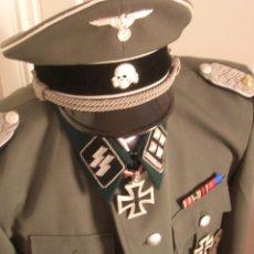 Militaria: UNIFORME OFICIAL SS. CASA G.ASSMANN. GORRA, GUERRERA. EXCEPCIONAL RÉPLICA.. Lote 132195938