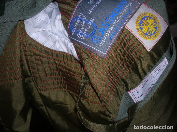 Militaria: UNIFORME OFICIAL SS. CASA G.ASSMANN. GORRA, GUERRERA. EXCEPCIONAL RÉPLICA. - Foto 6 - 132195938