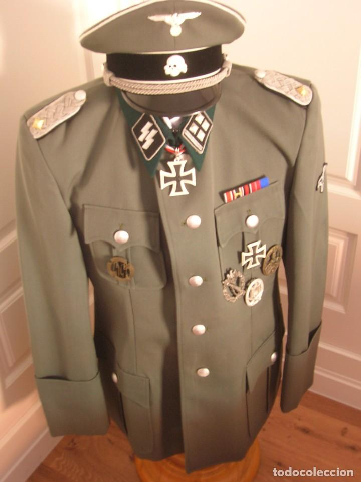 Militaria: UNIFORME OFICIAL SS. CASA G.ASSMANN. GORRA, GUERRERA. EXCEPCIONAL RÉPLICA. - Foto 7 - 132195938