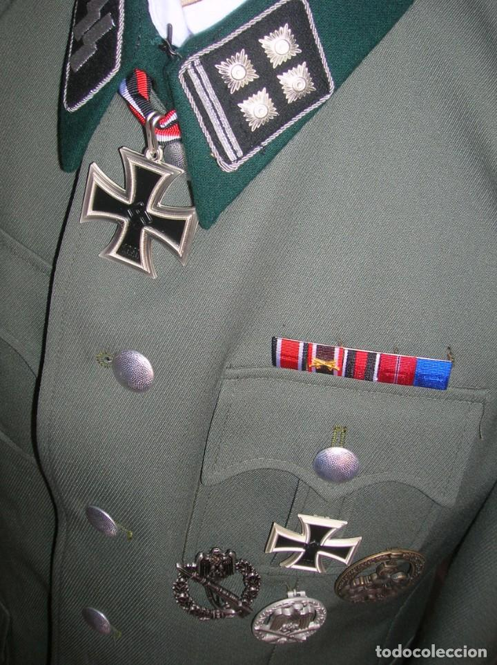 Militaria: UNIFORME OFICIAL SS. CASA G.ASSMANN. GORRA, GUERRERA. EXCEPCIONAL RÉPLICA. - Foto 9 - 132195938