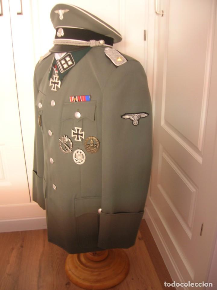 Militaria: UNIFORME OFICIAL SS. CASA G.ASSMANN. GORRA, GUERRERA. EXCEPCIONAL RÉPLICA. - Foto 13 - 132195938