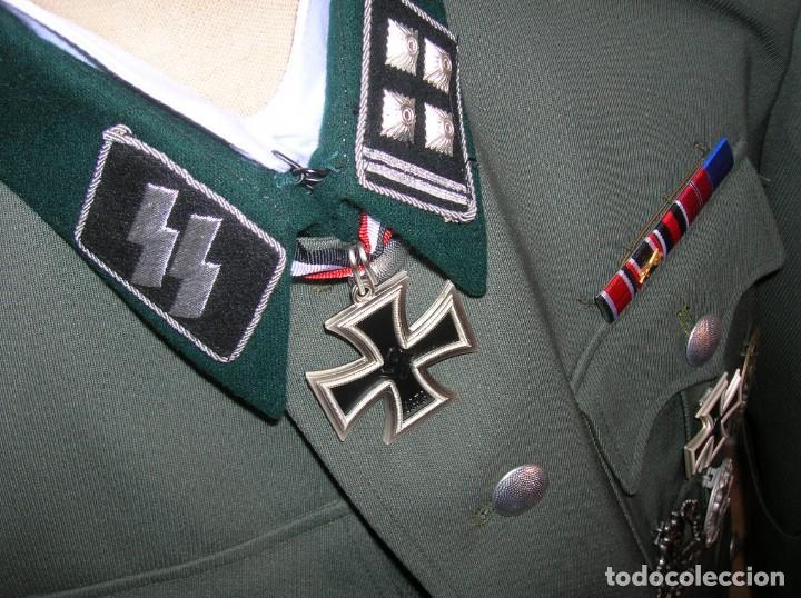 Militaria: UNIFORME OFICIAL SS. CASA G.ASSMANN. GORRA, GUERRERA. EXCEPCIONAL RÉPLICA. - Foto 14 - 132195938