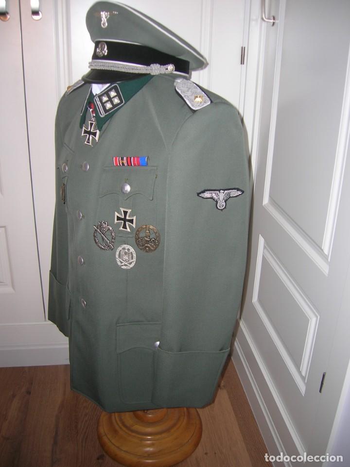 Militaria: UNIFORME OFICIAL SS. CASA G.ASSMANN. GORRA, GUERRERA. EXCEPCIONAL RÉPLICA. - Foto 16 - 132195938