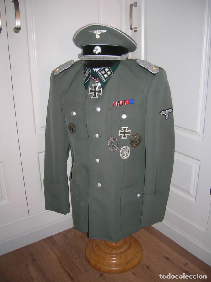 Militaria: UNIFORME OFICIAL SS. CASA G.ASSMANN. GORRA, GUERRERA. EXCEPCIONAL RÉPLICA. - Foto 19 - 132195938