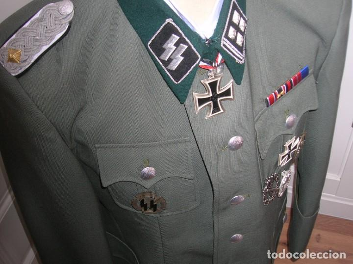 Militaria: UNIFORME OFICIAL SS. CASA G.ASSMANN. GORRA, GUERRERA. EXCEPCIONAL RÉPLICA. - Foto 22 - 132195938