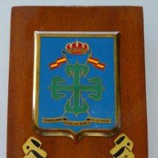 Militaria: METOPA MILITAR. REGIMIENTO ACORAZADO DE CABALLERÍA ALCÁNTARA Nº 10 MELILLA. 20 X 14 CM. 190 GR. Lote 234120895