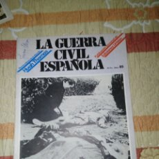 Militaria: GUERRA CIVIL ESPAÑOLA N 85. Lote 133383322