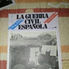 Militaria: GUERRA CIVIL ESPAÑOLA N 86. Lote 133383473