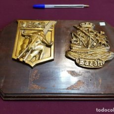 Militaria: METOPA DOBLE MEROKA Y BAZAN. Lote 136047882