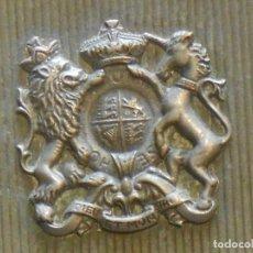 Militaria: CAJITA PLATEADA CON ESCUDO DE INGLATERRA. Lote 136287514