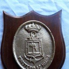 Militaria: METOPA NAVAL. MINISTERIO DE MARINA. . Lote 136648602
