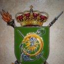 Militaria: METOPA ENMARCADA - ULOG 24. Lote 139359142