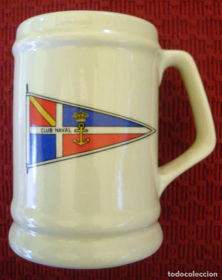 JARRA CLUB NAVAL , ARMADA ESPAÑOLA. (Militar - Reproducciones, Réplicas y Objetos Decorativos)