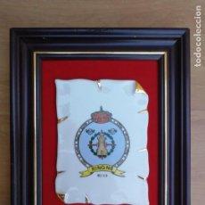 Militaria: METOPA RING N8 MELILLA REGIMIENTO DE INGENIEROS EJERCITO ESPAÑOL. Lote 139719814