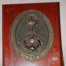 Militaria: ARMADA ESPAÑOLA. METOPA INTENDENCIA DE LA BASE NAVAL DE ROTA.. Lote 139758170