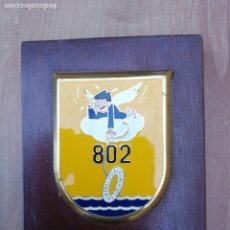 Militaria: METOPA DEL 802 ESCUADRÓN SARS DE RESCATE SALVAMENTO MARÍTIMO CANARIAS. Lote 139761570