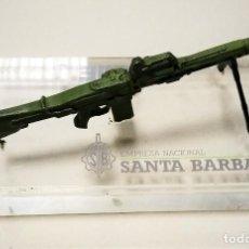 Militaria: AMETRALLADORA AMELI. CALIBRE 5,56X45 MM. RÉPLICA METÁLICA EN URNA DE METACRILATO (15X8X8,7 CMS.). Lote 140287514