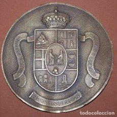 Militaria: PLACA DE BRONCE POLICIA ARMADA 2ª CIRCUNSCRIPCION. Lote 141470046