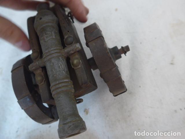 Militaria: RESERVADO cañon en pequeño, en bronce y madera. - Foto 9 - 142888902