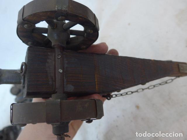 Militaria: RESERVADO cañon en pequeño, en bronce y madera. - Foto 10 - 142888902