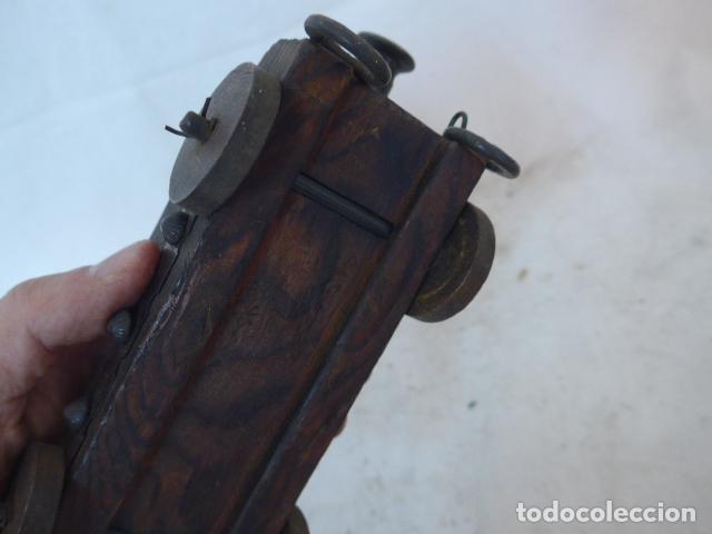 Militaria: RESERVADO cañon en pequeño, en bronce y madera. - Foto 14 - 142888902