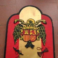 Militaria: ESCUDO MADERA ÁGUILA SAN JUAN.. Lote 143303954