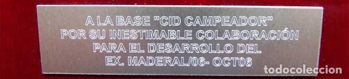 Militaria: METOPA. COE. BASE CID CAMPEADOR. BURGOS. COLABORACIÓN PARA EL DESARROLLO DEL EX. MADERAL/06. OCT.06 - Foto 3 - 143597026
