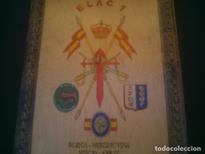 Militaria: METOPA MILITAR. EJÉRCITO ESPAÑOL EN BOSNIA HERZEGOVINA. DIVISION SALAMANDRE. SFOR. - Foto 3 - 145213310