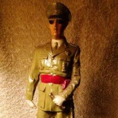 Militaria: FIGURA FRANCISCO FRANCO (ALTURA TOTAL CON PEANA 28 CM./PESO 1,350 KG.). Lote 145332106