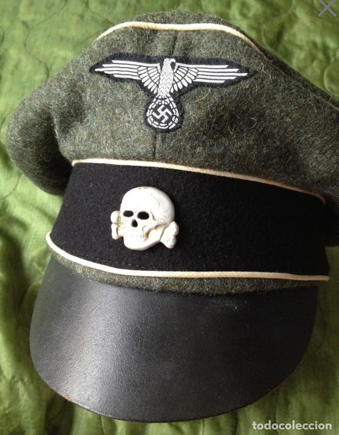 Gorra waffen ss , totenkopf , tercer reich - Sold at Auction - 145601266