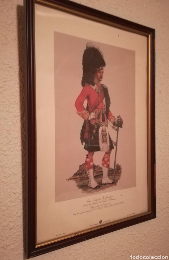 Militaria: Cuadros de historia militar,soldados del regimiento de infantería británico, 1914 y otro historia de - Foto 4 - 145763449