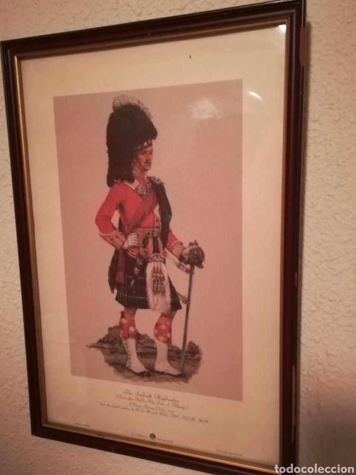Militaria: Cuadros de historia militar,soldados del regimiento de infantería británico, 1914 y otro historia de - Foto 7 - 145763449
